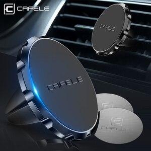 Image 4 - Cafele 3 スタイル磁気自動車電話ホルダー用スタンド電話でベント gps iphone × xs サムスン無料船