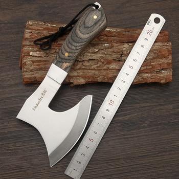Men's Gift Sharp Survival Tomahawk Hatchet Axe