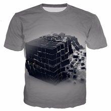 f624ed451 YX MENINA imagem de Buda Terra Gotas de Água 3D Imprimir Camiseta Homens  Mulheres