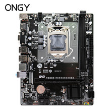 Ongy H61 placa base LGA 1155 DDR3 memoria 16 GB Micro-ATX SATA VGA placa principal USB HD procesador de Audio 16G ddr 3 Intel i3 i5 i7(China)
