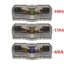 OOTDTY блок автомобильный предохранитель держатель стерео сиденья напряжение экспозиции Безопасный Прочный инструмент 60A/100A/150A