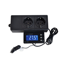 купить TC-320 16-40C Digital Aquarium Thermostat Cool Heat Auto Switching ON OFF Regulator Temperature Controller AU EU UK US Plug онлайн