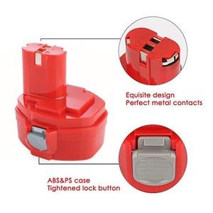 Image 5 - PA14 14,4 V NI MH 3000mAh Ersatz Batterie für Makita Batterie 14,4 V PA14 1420 1422 1433 1434 1435 1435F 192699 A