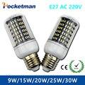 E27 E14 SMD 4014 Led corn bulb lamp 220 V 36 56 72 96 138LEDs replace incandescent 40 W 60 W 80 W 100 W 120 W lampada Led Bulbs