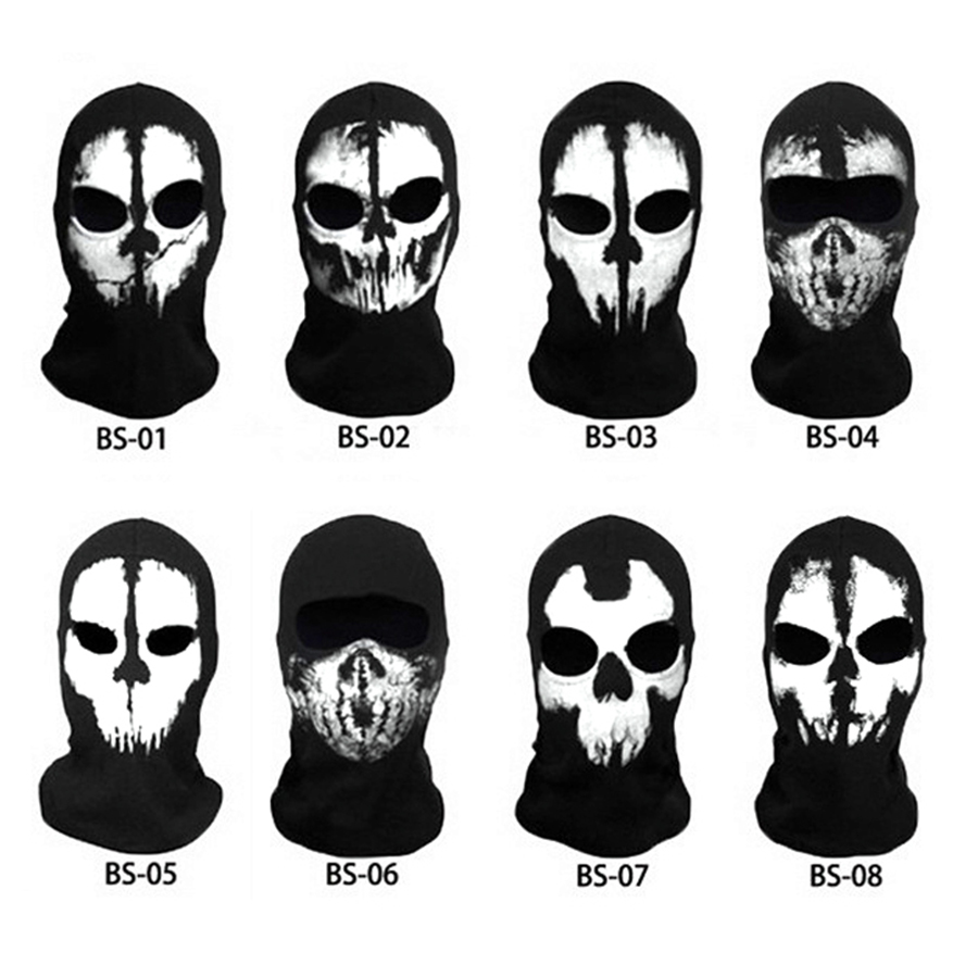 Aliexpress.com : Buy Motorcycles Skull Mask Ghost Skull Mask Multi ...