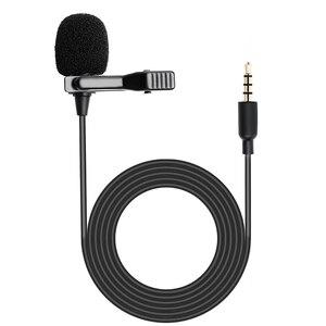 Image 4 - MAONO Lavalier Microphone Mini Portable Microphone Condenser Clip on Lapel Mic Wired Collar Mikrofo/Microfon for Phone Laptop