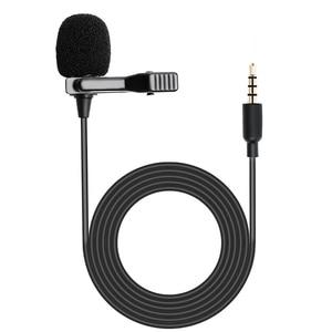Image 4 - MAONO yaka mikrofon Mini taşınabilir mikrofon kondenser klipsli yaka kablolu yaka Mikrofo/Microfon telefon Laptop için