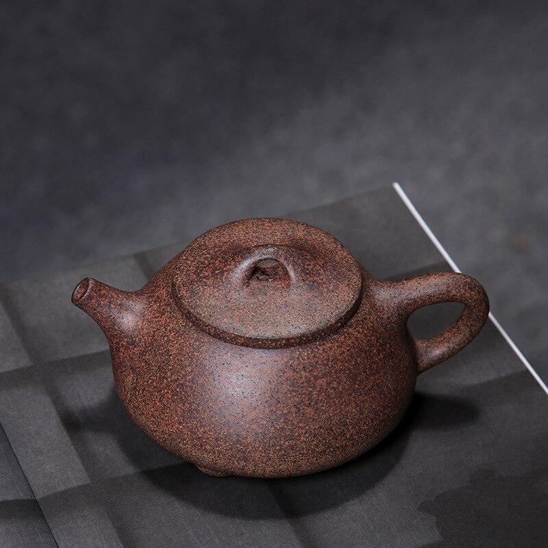 Ev ve Bahçe'ten Çaydanlıklar'de Zisha yakacak odun değiştirme taş kepçe pot Yixing purply kil demlik çin kung fu çaydanlıklar'da  Grup 3