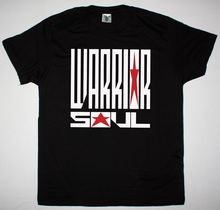 WARRIOR SOUL LOGO HARD ROCK KORY CLARKE WILDHEARTS MIND FUNK NEW BLACK T-SHIRT T Shirt Men Short Sleeve Funny