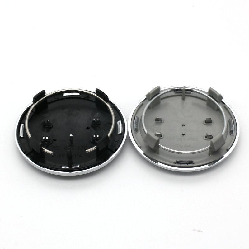 цены 20pcs/lot Black Grey For A6 C6 Rims Car Wheel Center Cap Hub Caps Covers Emblem 69mm For Audi Accessories 4B0601170A styling