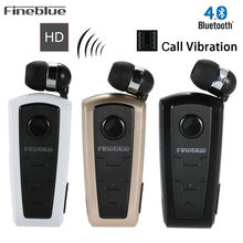 Fineblue F910 Wireless Bluetooth font b Earphone b font Wear Clip Stereo Sound In ear Sport