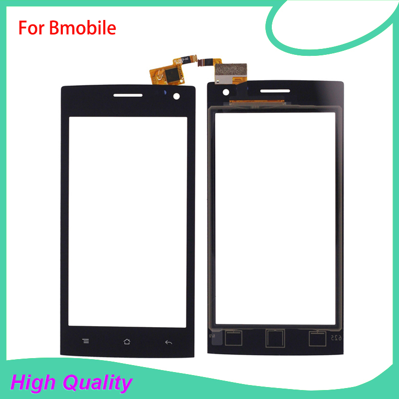 High Quality Touch Screen Digitizer Assembly For Bmobile 100% Guarantee Mobile Phone Touch Panel Free Tools