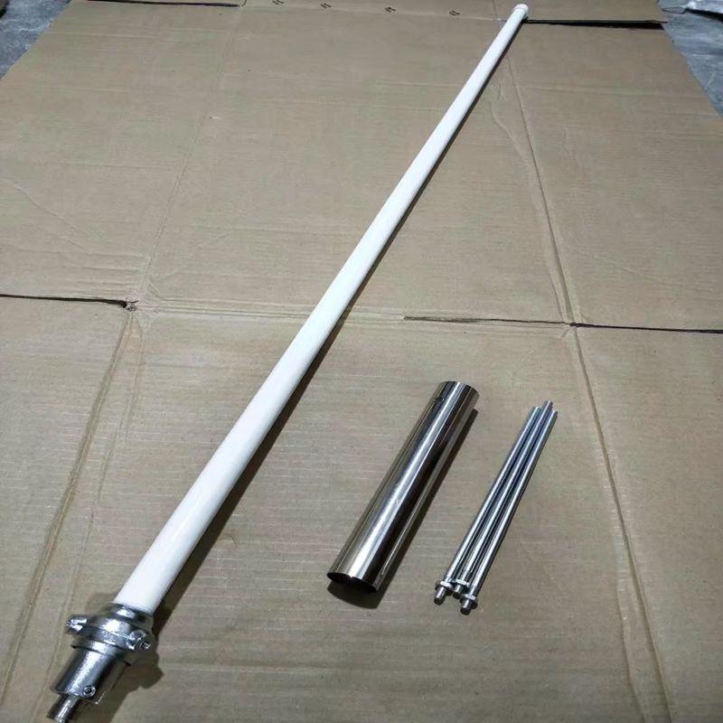 Dual band fiberglass antenna 144 430M vhf uhf dual band ham radio repeater fiberglass antenna vhf144M