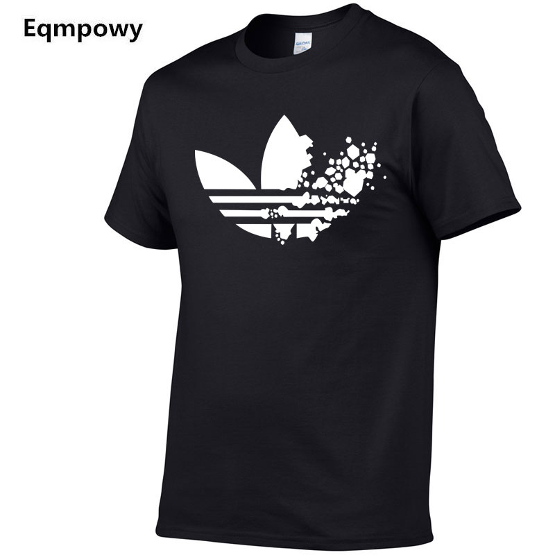 Europe Size New brand Mens   t  -  shirts   Casual clothes Funny brand   t     shirt   men print Cotton   T     Shirt   Mens Hip hop Skate Tshirt Tops