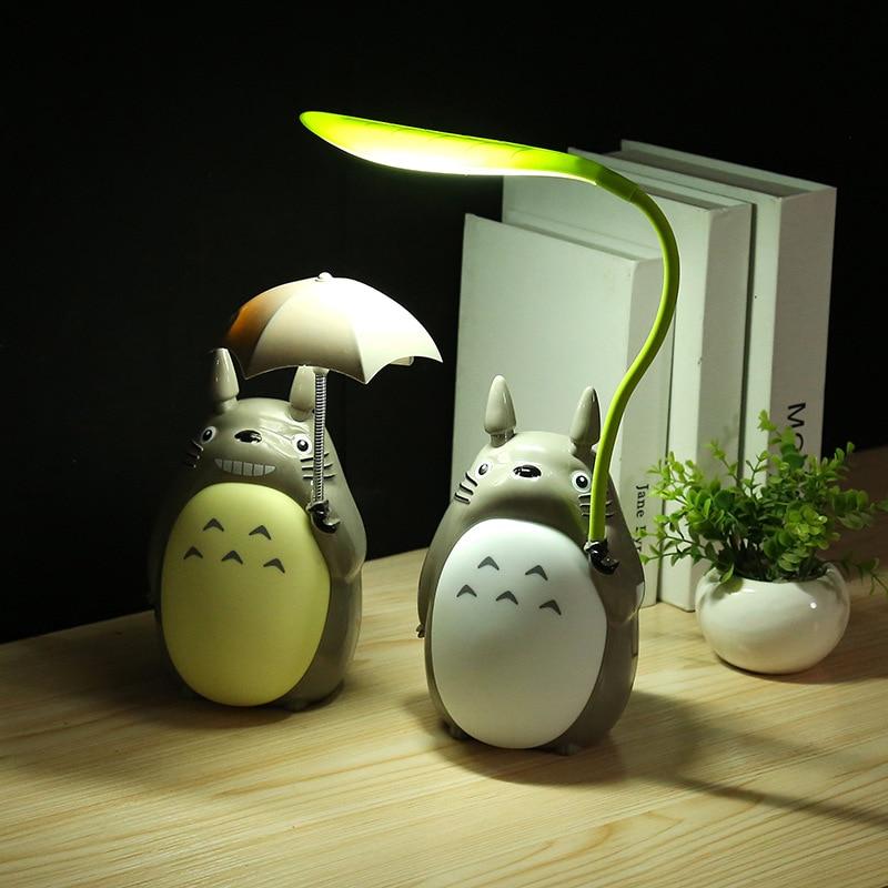 BRIGHTNWDCartoon USB Charging Hose Dragon Cat Umbrella Night Lamp Child Reading Eye Reading LED Desktop Lamp Night Light