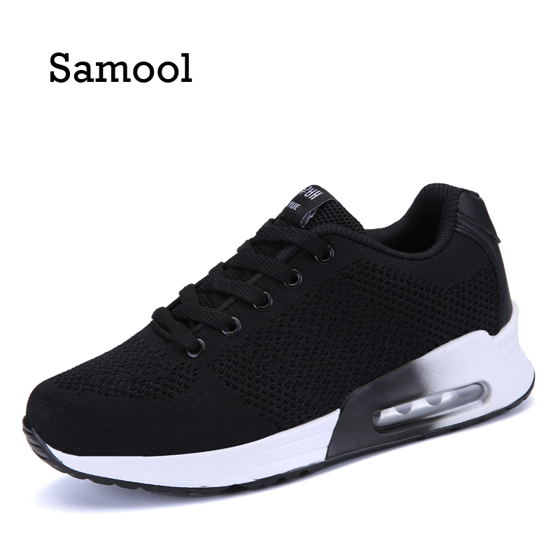 SAMOOL Fashion brand Women Shoes Breathable Air Mesh Trainers 2017 Spring Casual Shoes Woman Shoes tenis feminino Wearing shoes ceyue fashion brand women shoes breathable air mesh trainers 2017 spring autumn casual shoes woman walking flats tenis feminino