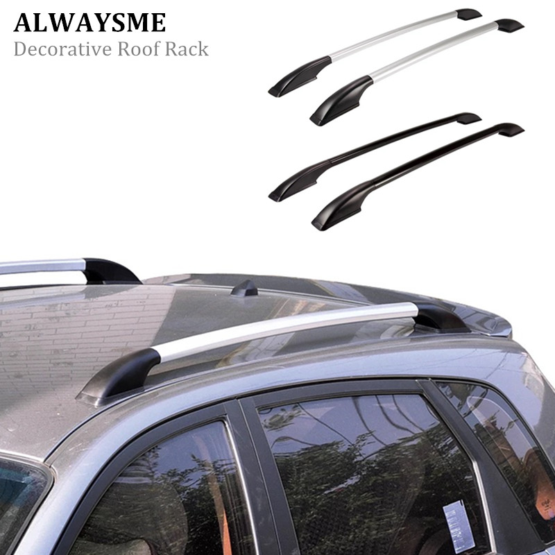 ALWAYSME Decorative Roof Rack Only For Car Decoration No Weight Support Function