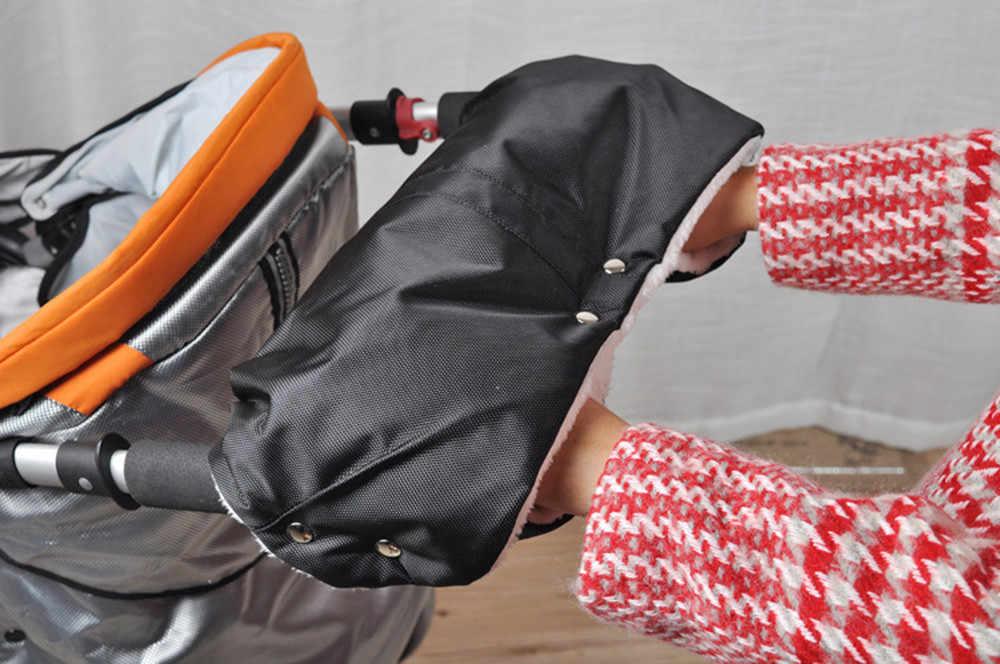 MUQGEW водонепроницаемые теплые перчатки для рук Детская коляска Коляска тележка рукавицы для рук зимние перчатки Аксессуары для коляски # WS