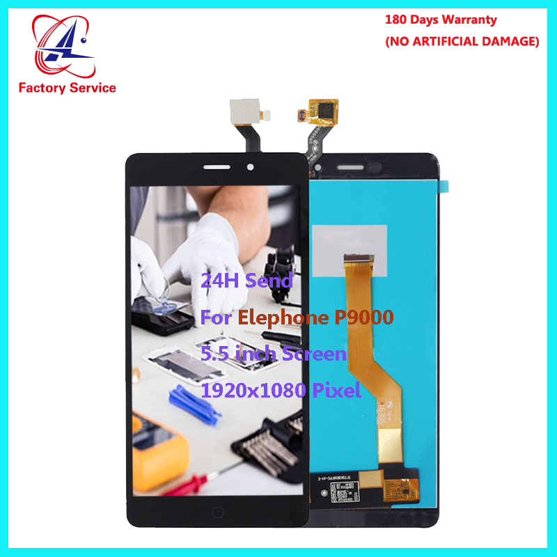 For Original Elephone P9000/P900 Lite LCD Display+Touch Screen Tested Digitizer Glass Panel Replacement 5.5 inch StockFor Original Elephone P9000/P900 Lite LCD Display+Touch Screen Tested Digitizer Glass Panel Replacement 5.5 inch Stock
