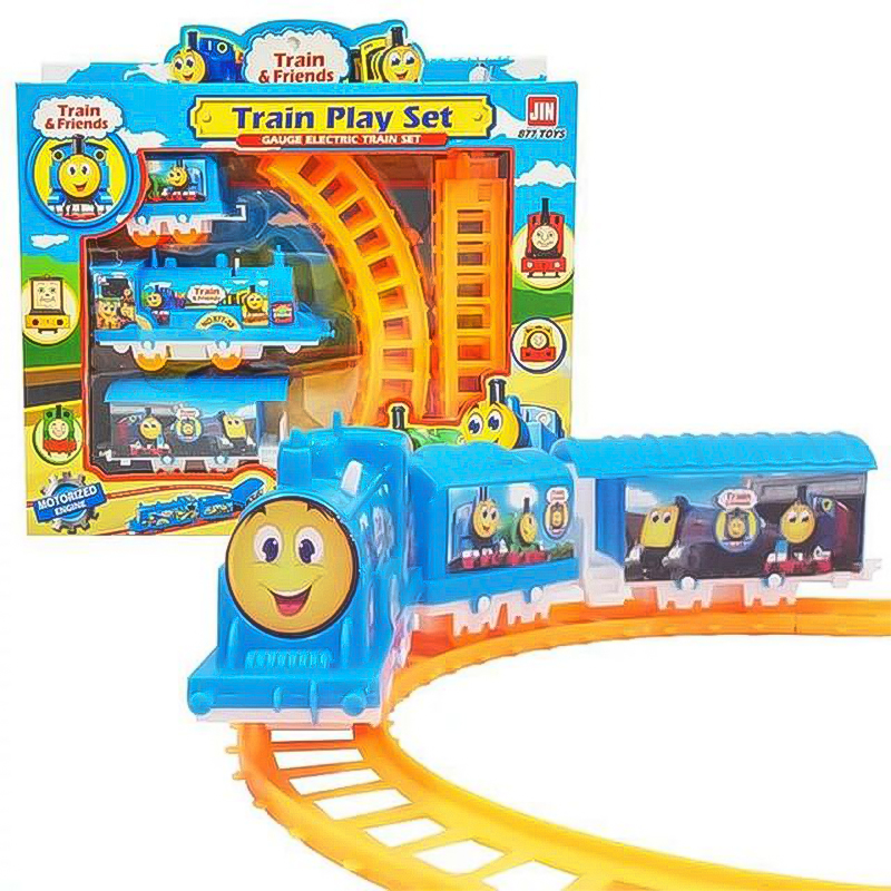 New Toys For Kids 2019 Electric Track Train Electric Animation Car Small Train Educational Toy Train  Kids Toys