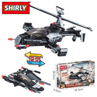 city Lepins War Military Army falcon helicopter Swat Building Blocks Bricks Counter Strike Toys Model kits gift