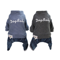 French Bulldog Cotton Casual Wear Pet Winter Fashion Clothes Dog Clothes for Dachshunds Dog Clothes for Small Dogs Coats A003