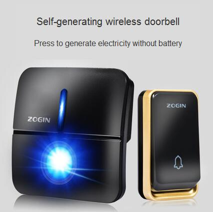 Waterproof self generating doorbell Wireless home without battery intelligent electronic remote control door Ling pager|  - title=