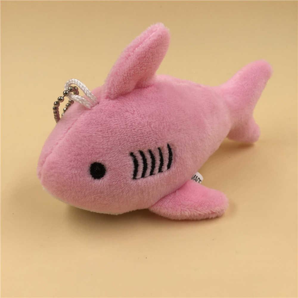 Mini ขนาดเล็กพวงกุญแจ Shark Plush ตุ๊กตาของเล่นตุ๊กตาตุ๊กตาตุ๊กตาตุ๊กตา Key Chain จี้ตุ๊กตาของเล่นเด็กตุ๊กตา Plush