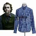 Custom Made Batman O Cavaleiro Das Trevas Coringa Hexagon Shirt Homens Adultos do Dia Das Bruxas Carnaval Cosplay Traje J10
