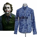 Por Encargo de Batman The Dark Knight Joker Hexagonal Camisa Hombres Adultos de Halloween Carnaval Cosplay J10