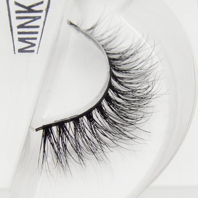 Visofree 3D Mink Eyelashes Upper Lashes 100% Real Mink Strip Eyelashes Handmade Crossing Mink Eye Lashes Extension A07