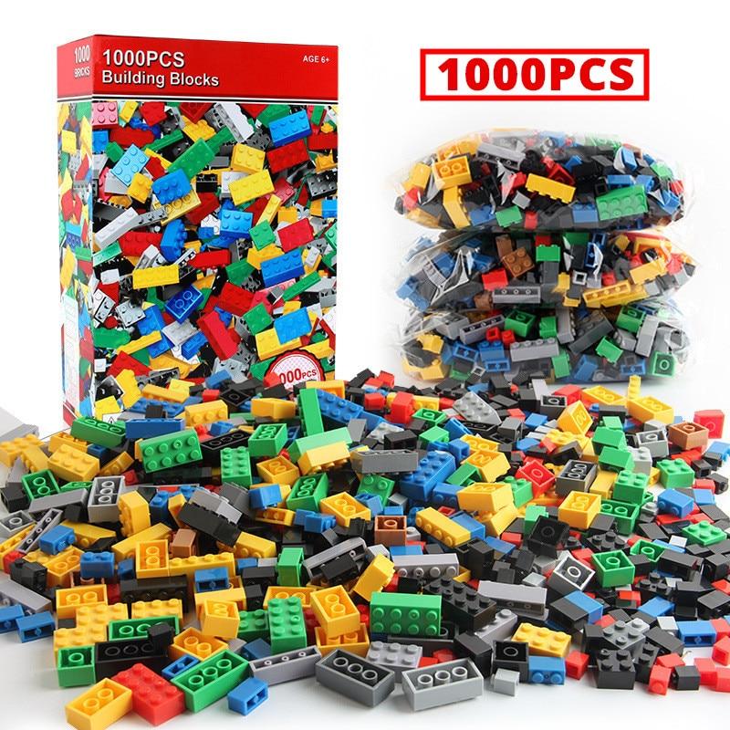 Melhor 1000 pçs legoinglys cidade blocos de construção conjuntos diy tijolos criativos amigos criador peças brinquedos educativos presente