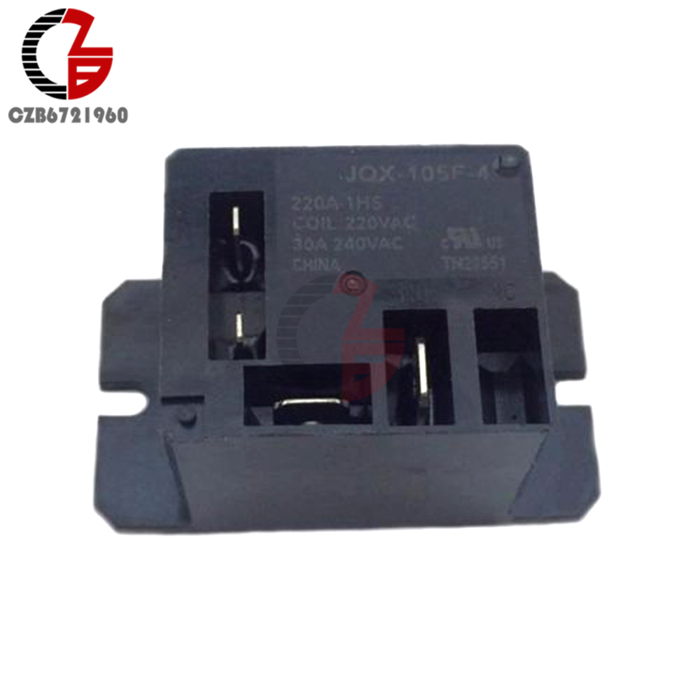 Air Condition Relay JQX-105F-4-220V-1HS Relay AC 220V 30A HF105F 4 Pin For Air Conditioner