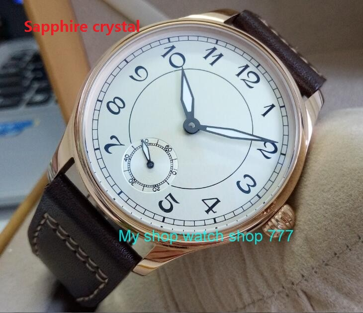 Sapphire Crystal 44mm PARNIS white dial Asian 6498/3621 Mechanical Hand Wind movement men's watch Mechanical watches RNM10a 44mm parnis white dial asian 6498 3621 mechanical hand wind movement men s watch mechanical watches rnm9