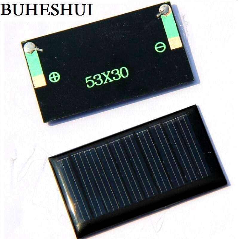 Buheshui 5v 30ma 53x30mm Micro Mini Small Power Solar