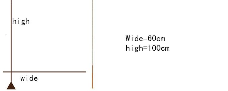 60 cm * 100 cm / pcs Personalizado Sin pegamento etiqueta de la - Decoración del hogar - foto 6