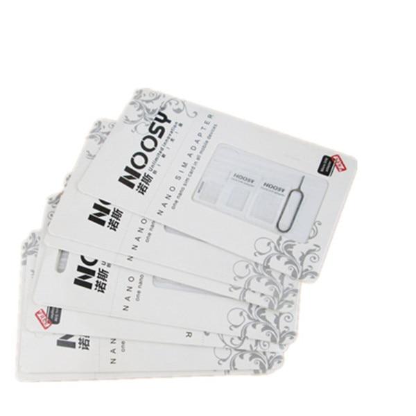 200 ensemble/lot vente chaude 4 en 1 Nano à Micro Mini adaptateur de carte Sim pour iphone 5-in Adaptateurs carte SIM from Téléphones portables et télécommunications on AliExpress - 11.11_Double 11_Singles' Day 1