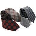 Moda Listrado Marca Camurça Populares Mens Laços Formais Gravata Gravatas dos homens Clássicos Ternos de Negócio Masculino Gravatas Laço Para O Casamento presente