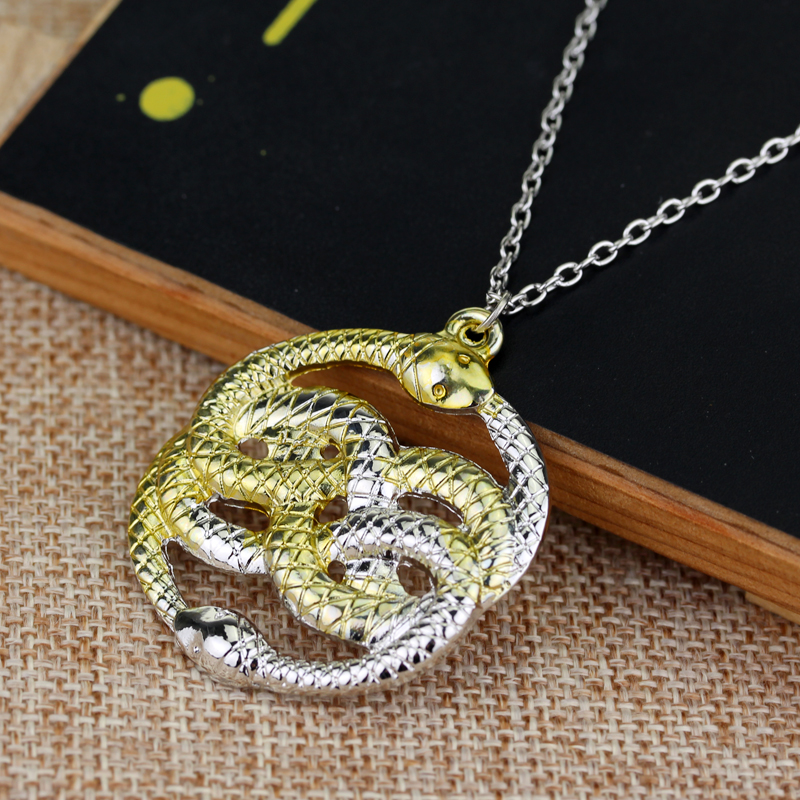 Movie the neverending story necklace never ending auryn ouroboros movie the neverending story necklace never ending auryn ouroboros snakes pendant necklace for women fashion jewelry accessories in pendant necklaces from mozeypictures Choice Image