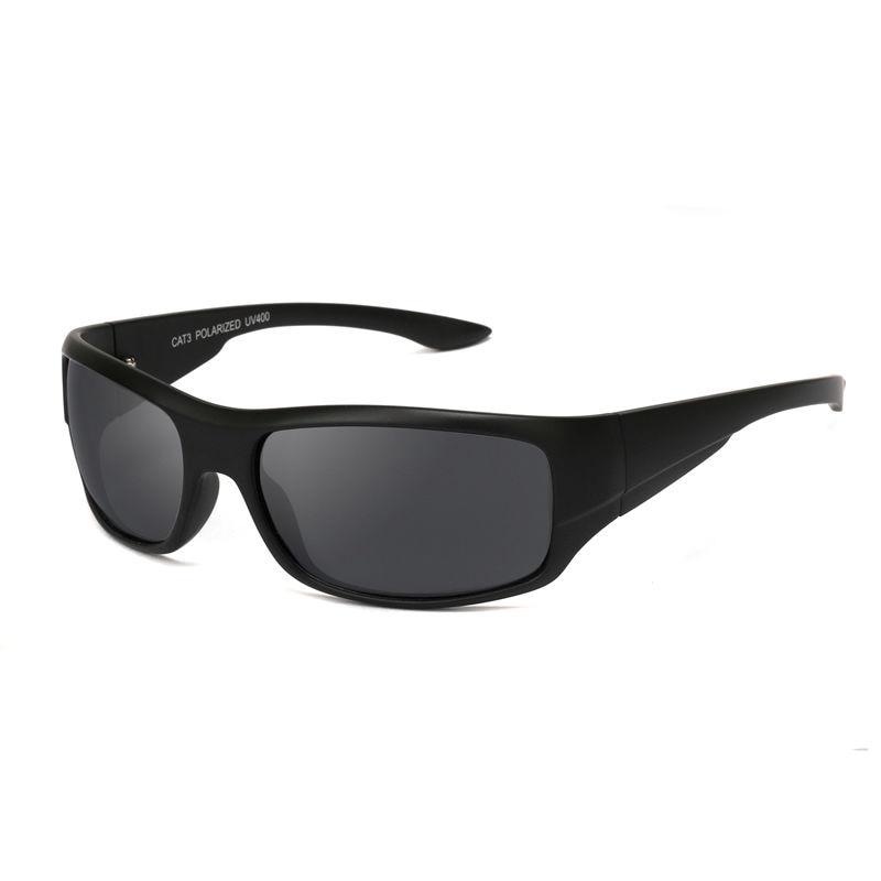 UV400 Men Polarized Sunglasses Black Frame Hight Quality Eyewear Sport Oculos Fishing Cycling Gafas De Sol Polarizadas