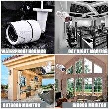 4/8CH 1080P HD POE Net NVR CCTV System 4/6/8pcs 2MP Outdoor IP66 IP Camera P2P Security Surveillance Kit Motion Detect