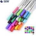 STA 26 цветов 0 4 мм ручки-кисти  маркеры для рисования  водонепроницаемый крючок  тонкие линии  ручки для рисования  ручка для рукописного ввода...