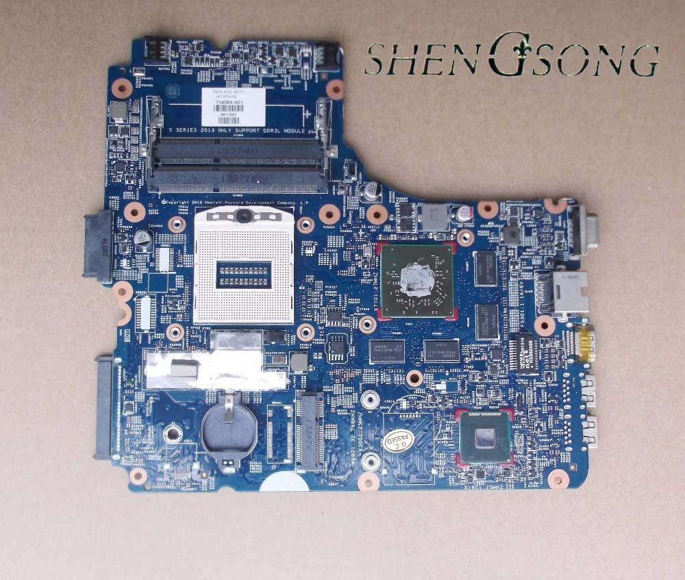 746629-601 Livraison Gratuite 48.4YW05.011 746629-001 746629-501 mère d'ordinateur portable pour HP Probook 450 470 G1 Notebook PC