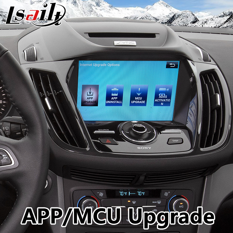 US $440 0 20% OFF|Android 7 1 Video Interface GPS Navigation for Ford  Escape Sync 3 System Built in WIFI Bluetooth Mirrorlink 2016 2018-in  Vehicle GPS