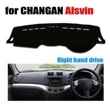 Приборной панели автомобиля охватывает мат для Changan Alsvin все годы правым dashmat Pad Даш крышка авто аксессуары приборной панели