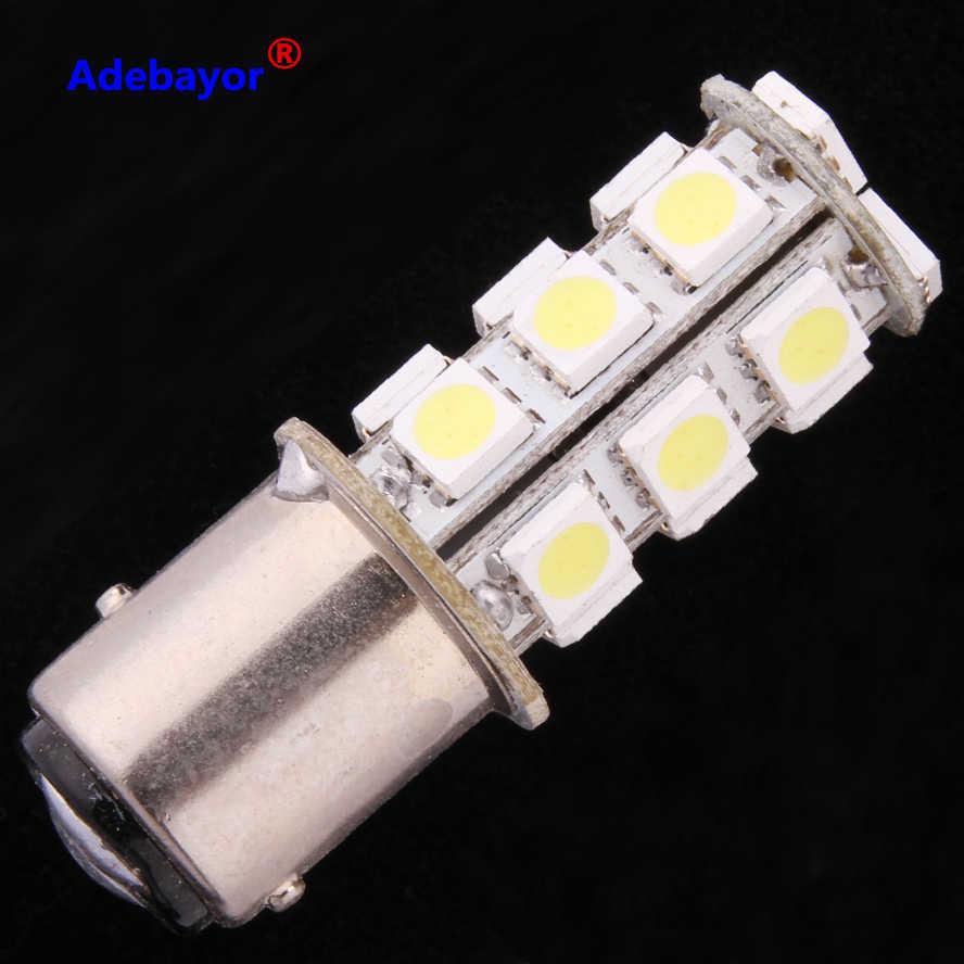 10x1157 18 светодиодный 5050 автомобильный стоп стояночный свет Светодиодные лампы перевернутая светодиодная клиновидная лампа лампы белые автомобильные аксессуары Adebayor