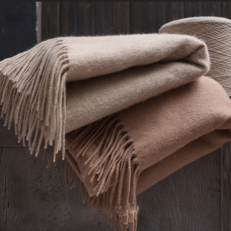 100% Wool Scarves Women
