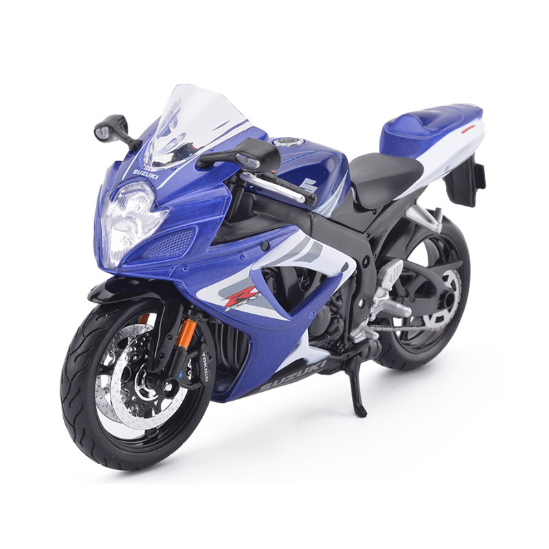 Maisto 1:12 Suzuki Motorcycle Toy Alloy Motorbike Simulation GSX R750 Motor Model Toys For Children moto model 1 6 suzuki suzuki gsx1100a katana 16025 model buiding kits