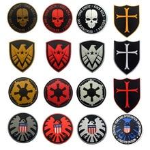The aegis board badge jundun Temple Star Wars Tactical Patches armband PVC disposable waterproof glue aegis