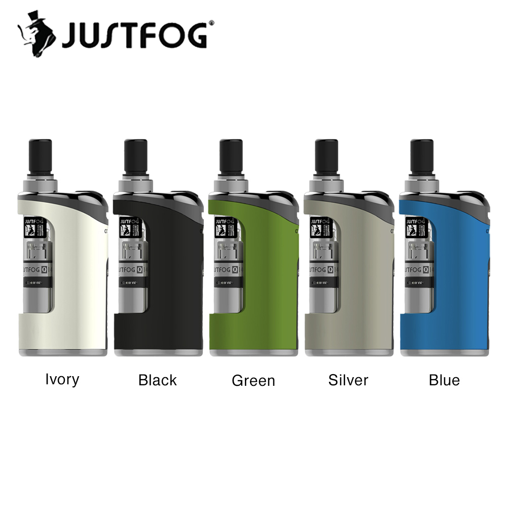 New JUSTFOG Compact 14 Kit With 1500mAh Battery & 1.8ml Q14 Atomizer & LED Battery Indicator Light Long Time Vaping Vs Minifit